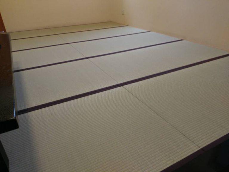 某店舗の広間 畳の新調